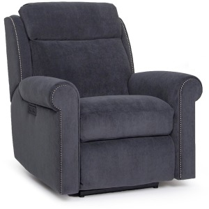 Motorized Reclining Chair with Headrest
