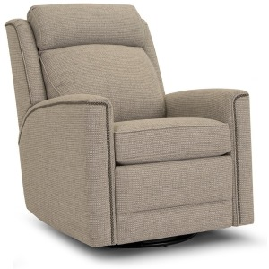 Motorized Swivel Glider Reclining Chair with Headrest