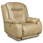 Crescent Rocker Recliner w/ Power Headrest