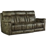 Wow Factor Power Headrest Sofa