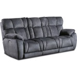 Wild Card Power Headrest Sofa w/Drop Down Table