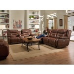 Cresent Reclining Sofa & Loveseat Set