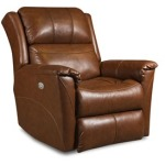 Shimmer Layflat Recliner with Power Headrest