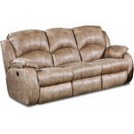 Cagney Double Reclining Power Headrest Sofa