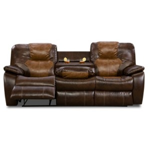 Avalon Loveseat w/ Dropdown Table