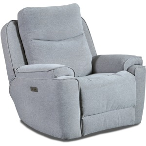 Show Stopper Power Headrest Wall Hugger Recliner w/ SoCozi
