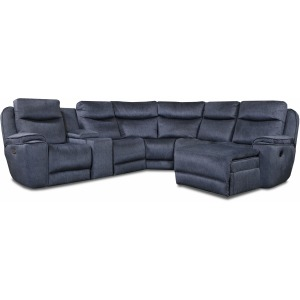 Show Stopper 5 PC Reclining Sectional