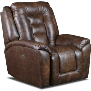 Grid Iron Power Headrest Rocker Recliner