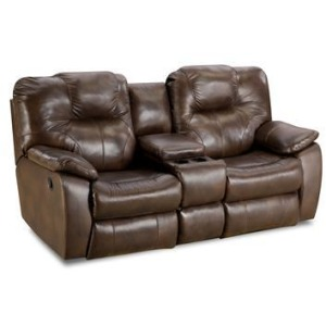 Avalon Double Reclining Sofa with Drop Down Table