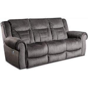 Titan Power Reclining Sofa w/Power Headrest