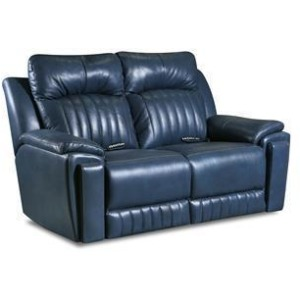 Silver Screen Power Headrest Loveseat with Arm Cupholders