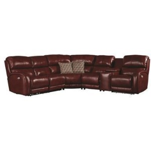 Fandango 6 PC Sectional w/ Power Headrest & SoCozi