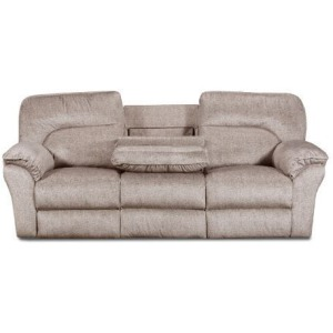 Full Ride Power Headrest Sofa with Drop Down Table