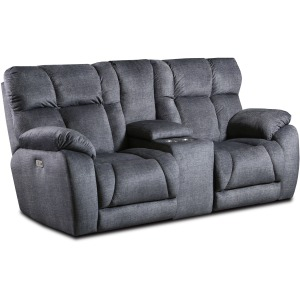 Wild Card Power Headrest Loveseat w/Console