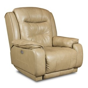 Cresent Wall Hugger Recliner with Power Headrest