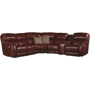 Fandango 6 PC Sectional w/ Power Headrest