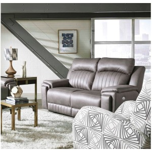 Silver Screen Double Reclining Loveseat