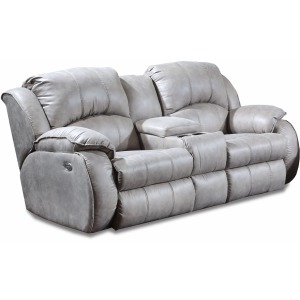 Cagney Power Reclining Loveseat w/Power Headrest & Console