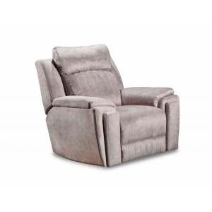 Silver Screen Wall Hugger Recliner with Hidden Cupholders