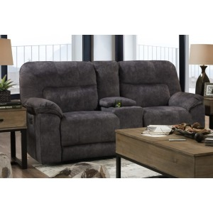 Top Gun Double Power Reclining Loveseat with Console