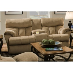 Re-Fuler Double Reclining Loveseat with Console