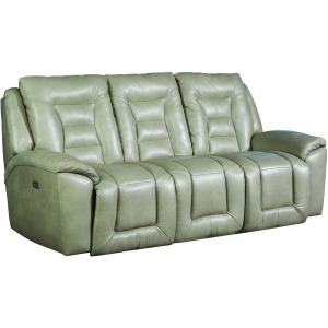 Grid Iron Double Power Reclining Sofa
