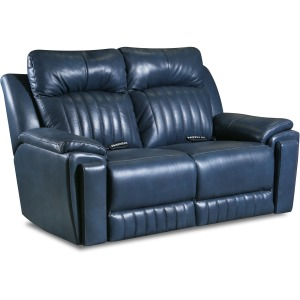 Silver Screen Power Plus Double Reclining Loveseat w/ Arm Cupholders