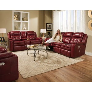 Inspire Power Headrest Sofa & Loveseat Set