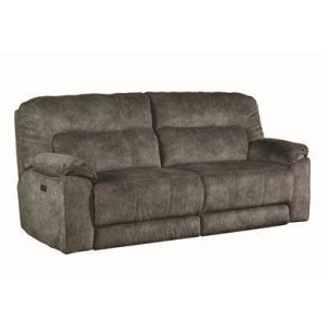 Top Gun Double Reclining Power Headrest Sofa w/Next Level Reclining