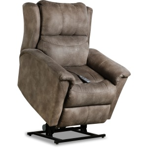 Shimmer Layflat Lift Chair with Power Headrest and SoCozi