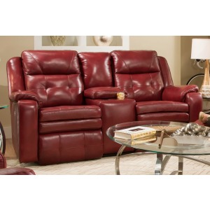 Inspire Double Reclining Loveseat with Console
