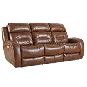 Showcase Double Reclining Sofa with Power Headrest