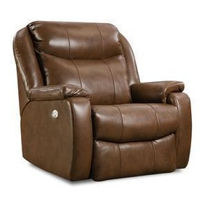 Shimmer Rocker Recliner with Power Headrest and SoCozi