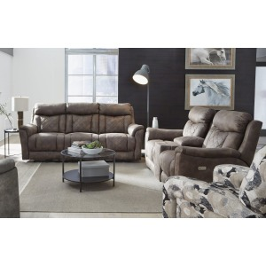 Wow Factor Power Headrest Sofa & Loveseat Set