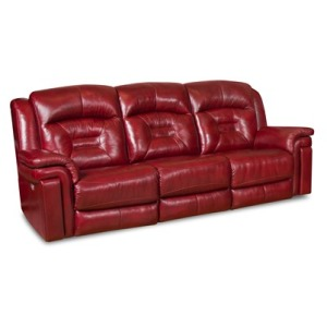 Avatar Double Reclining Sofa with Power Headrest