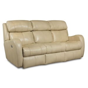 Siri Double Reclining Sofa with Power Headrest