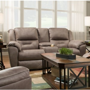 Pandora Power Double Reclining Loveseat with Console