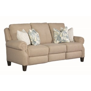 Key Largo Double Reclining Power Sofa with Pillows