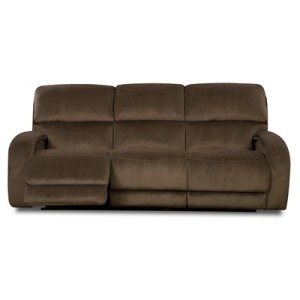 Fandango Double Reclining Sofa w/Power Headrest