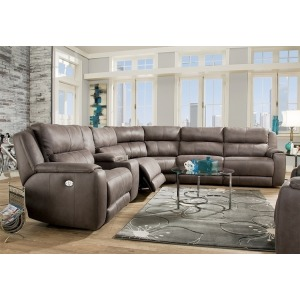 Dazzle 6 PC Power Reclining Sectional