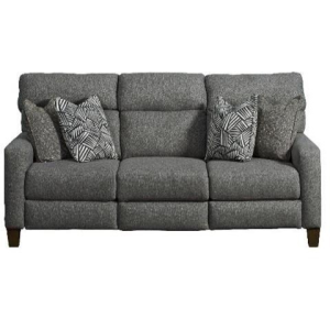 Mt. Vernon Double Reclining Power Sofa with Pillows