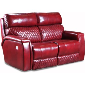 High Rise Power Double Reclining Loveseat