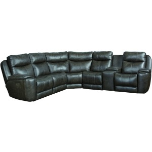 Show Stopper 6 PC Power Reclining Sectional