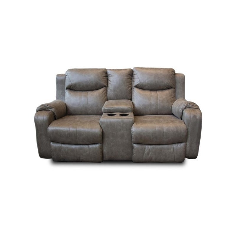 Marvel Double Reclining Sofa W Console