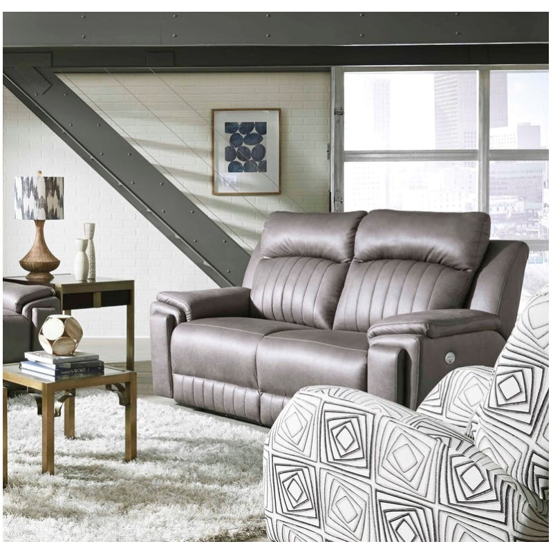 Silver Screen Double Reclining Loveseat By Design 2 Recline