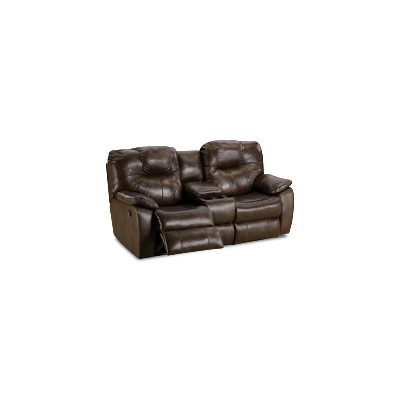 Avalon Double Reclining Console Sofa