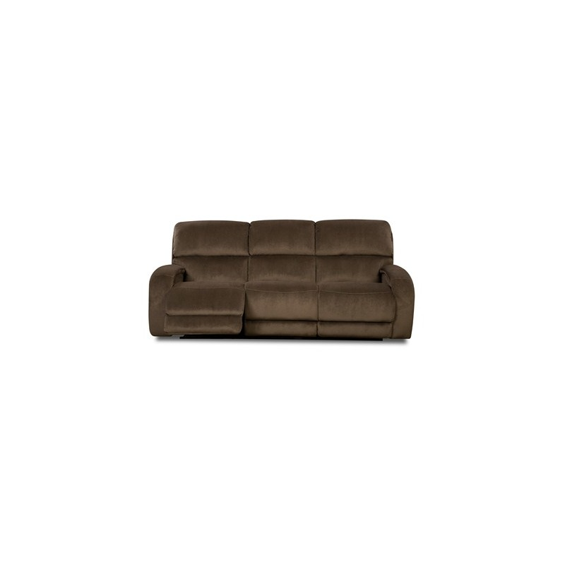 Fandango Double Reclining Sofa with Power Headrest