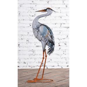 Stork S-Neck Metal Decor