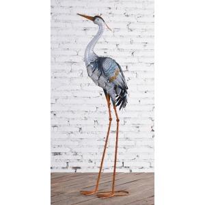 Stork Head Up Metal Decor