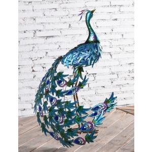 Peacock Metal Decor